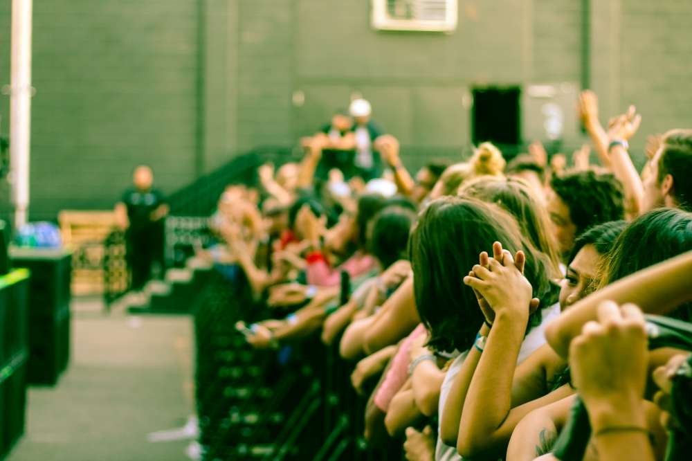 Crowd at Khalid Concert