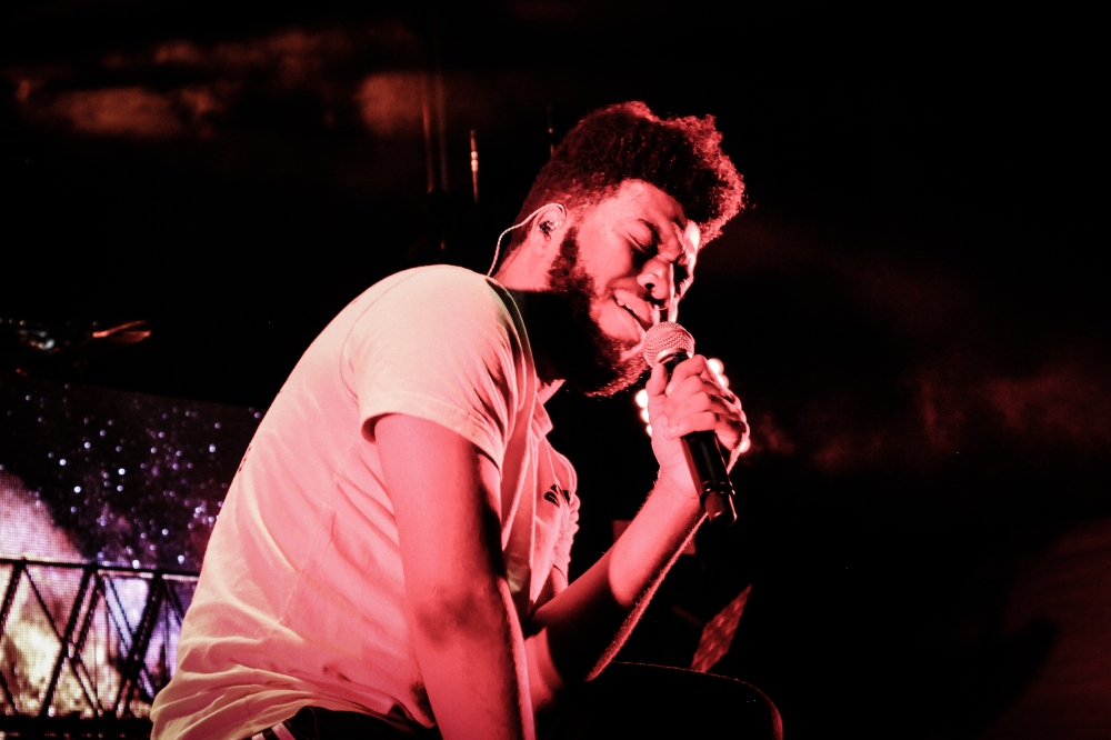 Khalid Performing